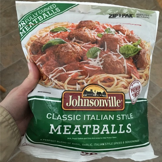Johnsonville meatballs | realmomkitchen.com