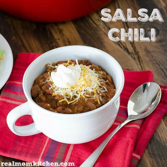 Salsa Chili   realmomkitchen.com #BushsChiliCookOff