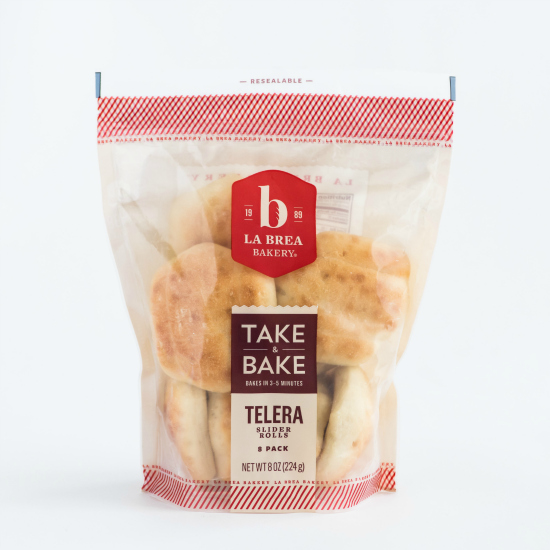 La Brea Take & Bake Telera Slider Rolls