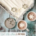 Cool Whip Shapes For Hot Cocoa/Chocolate | realmomkitchen.com