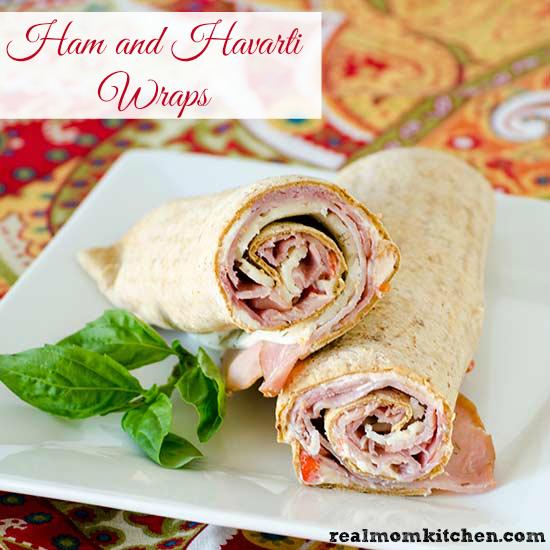 Ham and Havarti Wraps   realmomkitchen.com