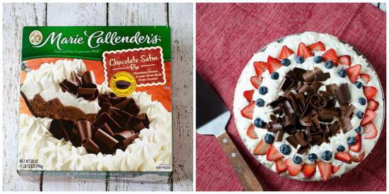 Chocolate Satin Pie with Berries   realmomkitchen.com