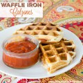 Easy Waffle Iron Calzones | realmomkitchen.com