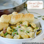 Ham and Cheese Tortellini | realmomkitchen.com