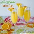 Non-Alcoholic Mimosas | realmomkitchen.com