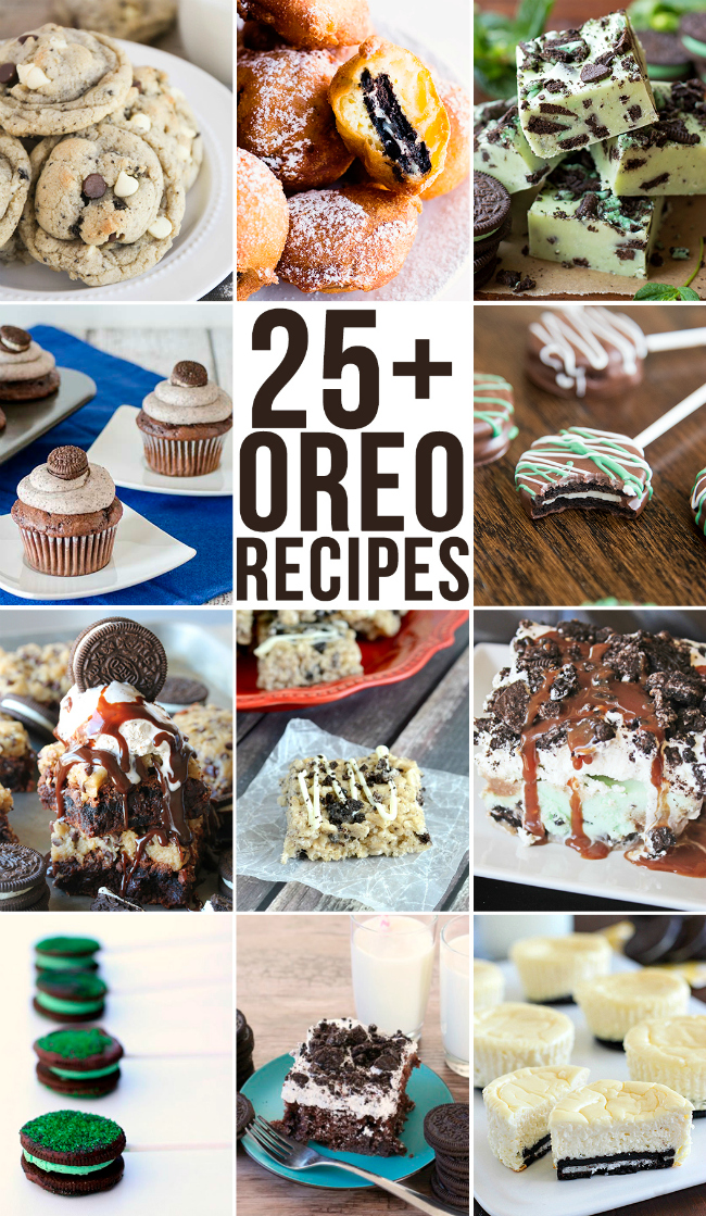 25 + Oreo Cookie Recipes | realmomkitchen.com