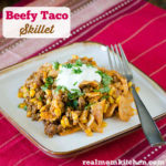 Beefy Taco Skillet | realmomkitchen.com
