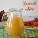 Buttermilk Syrup | realmomkitchen.com