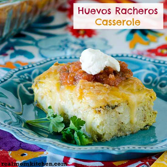Huevos Rancheros Casserole | realmomkitchen.com