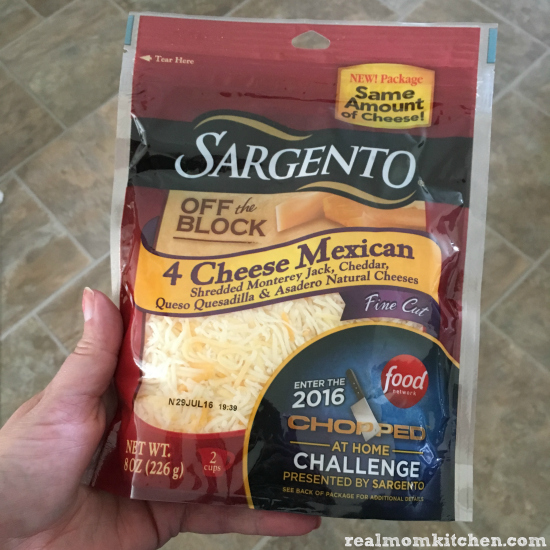 Sargento® Fine Cut Shredded 4 Cheese Mexican blend | realmomkitchen.com