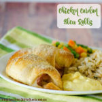 Chicken Cordon Bleu Rolls | realmomkitchen.com