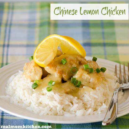 Chinese Lemon Chicken | realmomkitchen.com