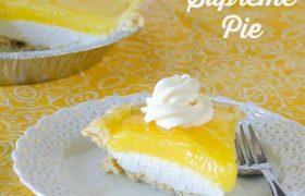 Lemon Supreme Pie   realmomkitchen.com