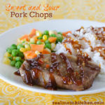 Sweet and Sour Pork Chops | realmomkitchen.com