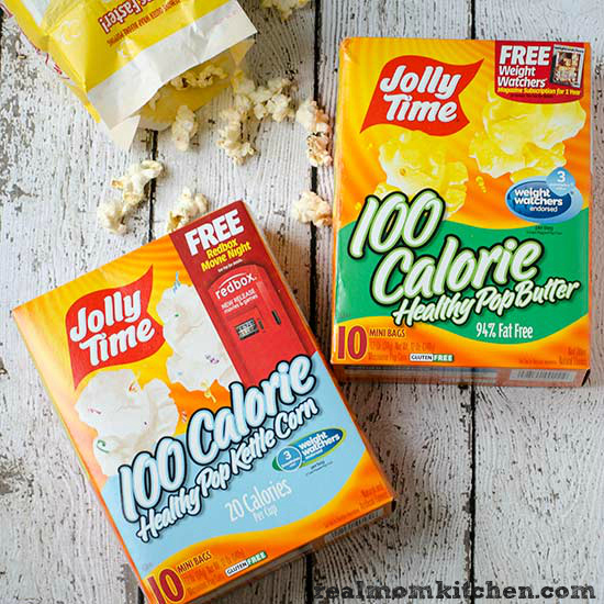 Weight Watchers® Endorsed Jolly Time Pop Corn | realmomkitchen.com