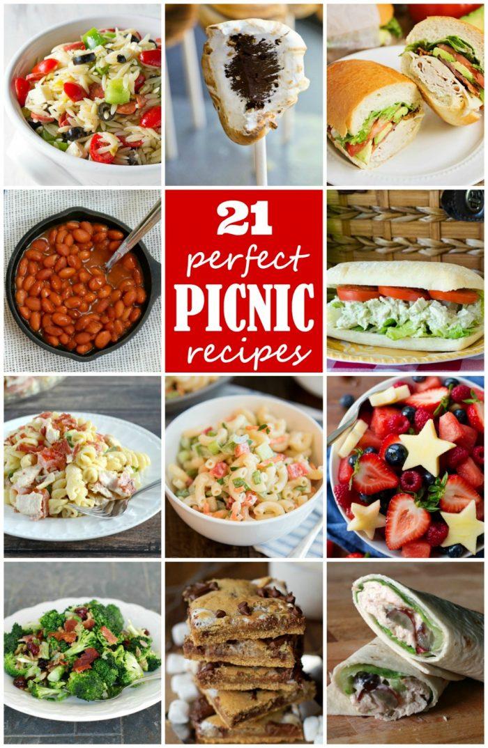 21 Perfect Picnic Recipes | realmomkitchen #internationalpicnicday