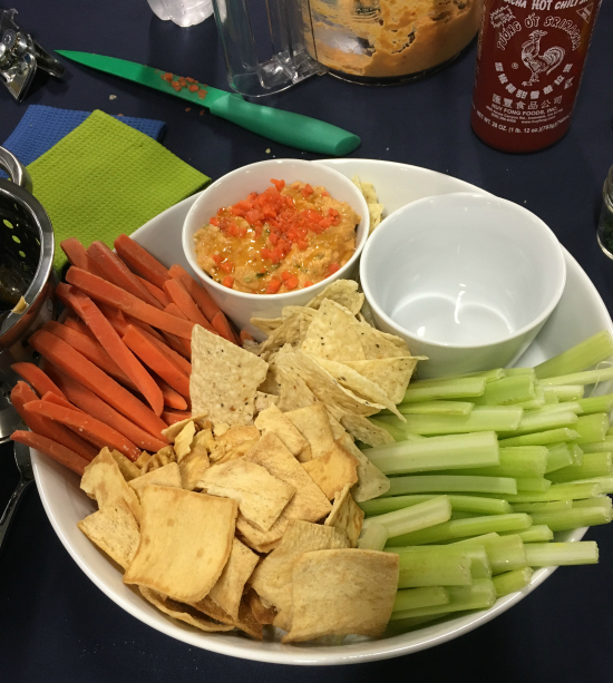 NASCAR and Bush Bean's New Hummus | realmomkitchen.com