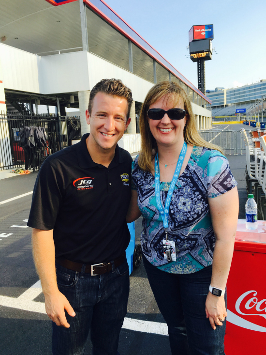 AJ Allmendinger, NASCAR and Bush Bean's New Hummus | realmomkitchen.com