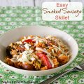 Easy Smoked Sausage Skillet | realmomkitchen.com