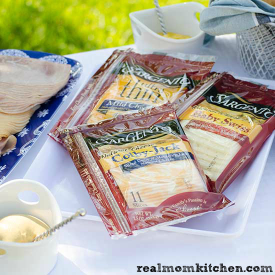 How to Host a Sandwich Bar - Sargento Sliced Cheese How to Host a Sandwich Bar - deli meats | realmomkitchen.com