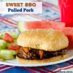 Sweet BBQ Pulled Pork | realmomkitchen.com