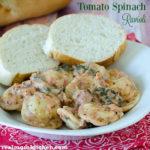Tomato Spinach Ravioli | realmomkitchen.com