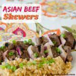 Asian Beef Skewers | realmomkitchen.com