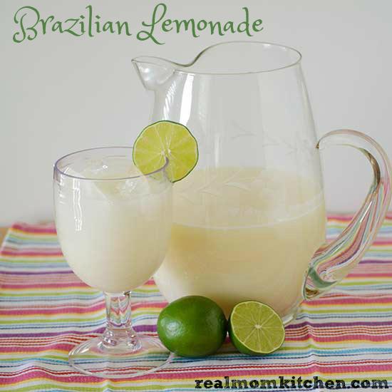 Brazilian Lemonade | realmomkitchen.com