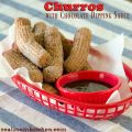 Churros with Chocolate Dipping Sauce | realmomkitchen.com