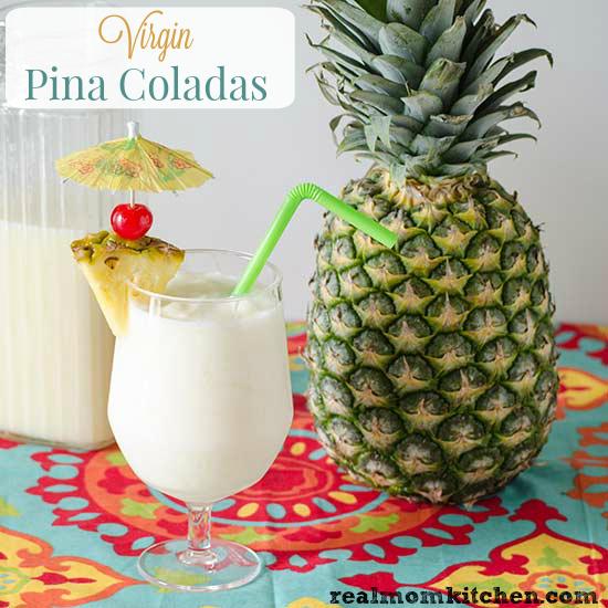 Virgin Pina Coladas | realmomkitchen.com