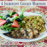 4 Ingredient Chicken Marinade | realmomkitchen.com