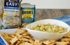 Bush's Classic Hummus Made Easy | realmomkitchen.com