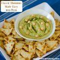 Bush's Classic Hummus Made Easy with Pesto | realmomkitchen.com