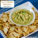 Bush's Classic Hummus Made Easy with Pesto | realmomkitchen.com