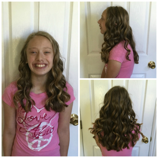 NuMe 22 mm curling wand | realmomkitchen.com