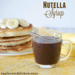 Nutella Syrup | realmomkitchen.com