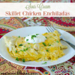 Sour Cream Skillet Enchiladas | realmomkitchen.com