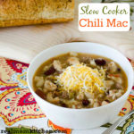 Slow Cooker Chili Mac | realmomkitchen.com