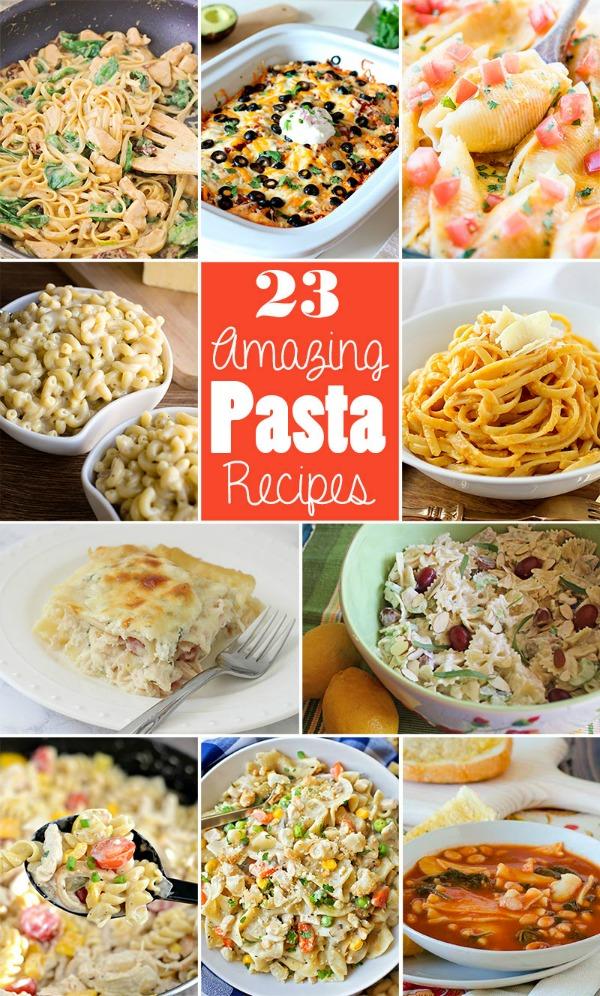 23 Amazing Pasta Recipes   realmomkitchen.com #nationalpastaday