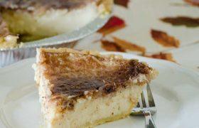 Sugar Cream Pie | realmomkitchen.com