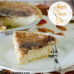Sugar Cream PIe | realmomkitchen.com