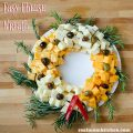 Easy Cheese Wreath | realmomkitchen.com