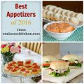 Best Appetizers of 2016   realmomkitchen.com