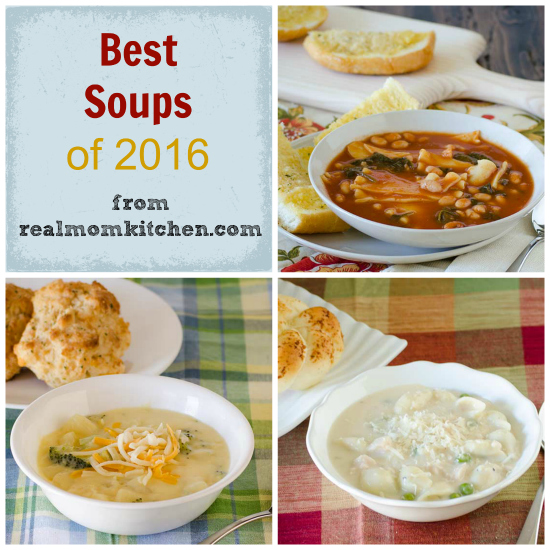 Best Soups of 2016 | realmomkitchen.com