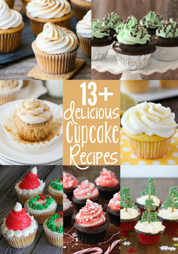 13+ Delicious CUpcake Recipes | realmomkitchen.com #celebratingfoodholidays