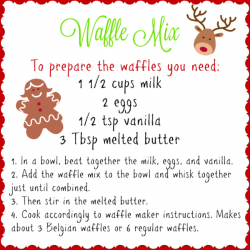 Waffle Mix Gift | realmomkitchen.com