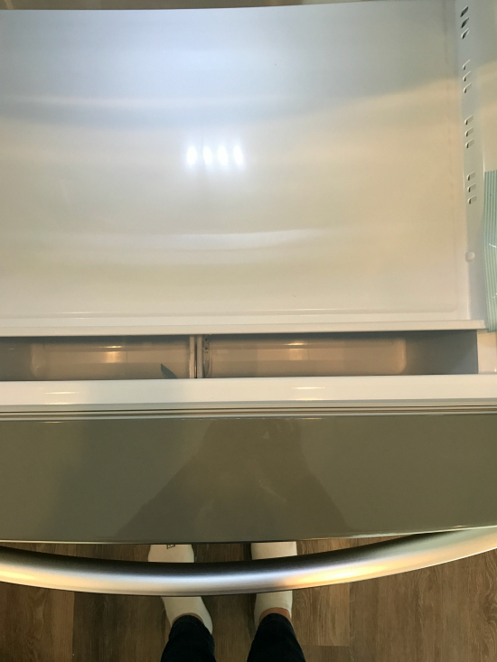 LG Fridge freezer | realmomkitchen.com