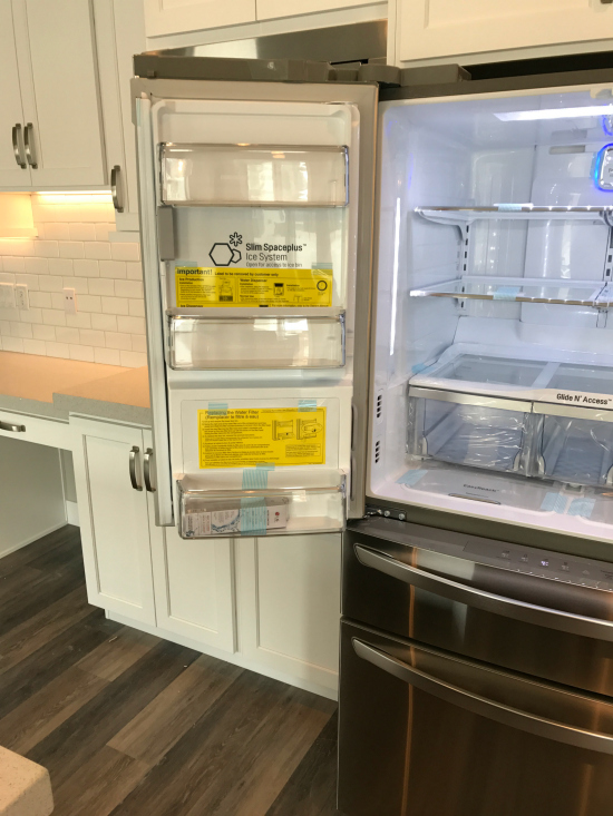 LG Fridge ice maker | realmomkitchen.com