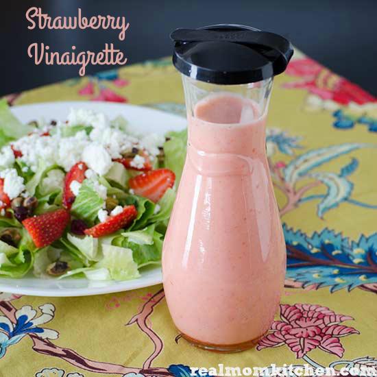 Strawberry Vinaigrette Dressing | realmomkitchen.com