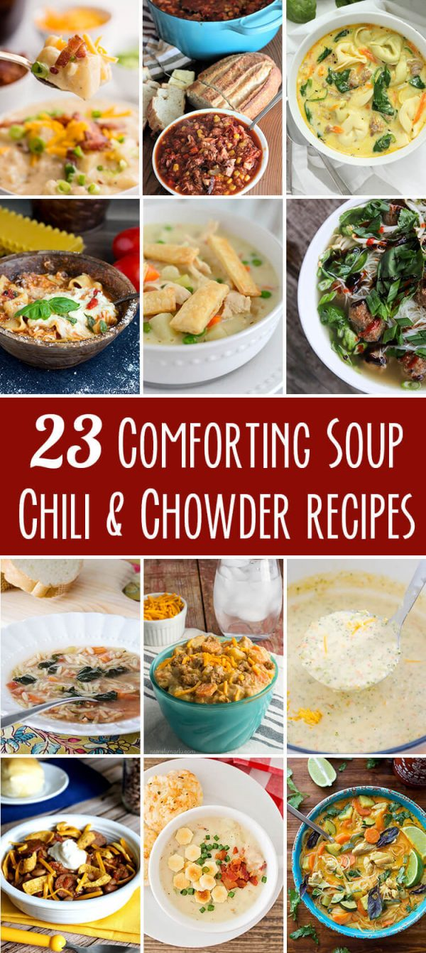 23 Comforting Soups | realmomkitchen.com